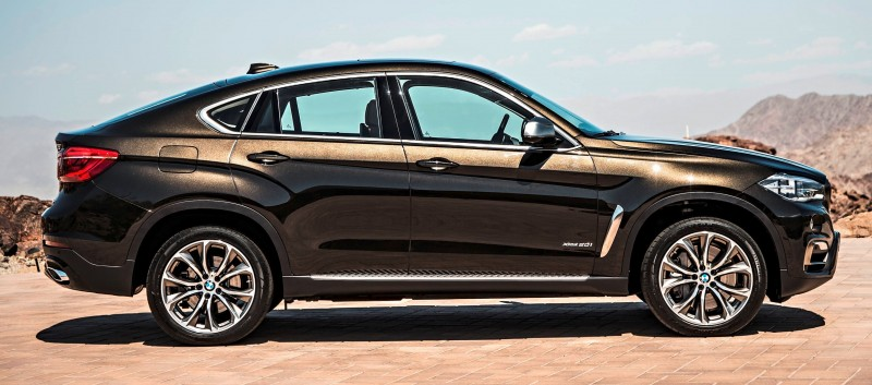 2015 BMW X6 Debuts Tech-tastic 445HP xDrive50i and New Rear-Drive sDrive35i 18