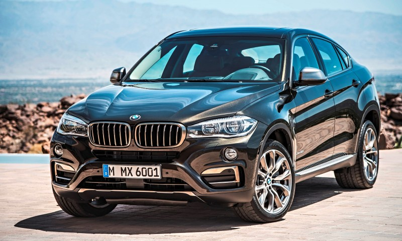 2015 BMW X6 Debuts Tech-tastic 445HP xDrive50i and New Rear-Drive sDrive35i 19