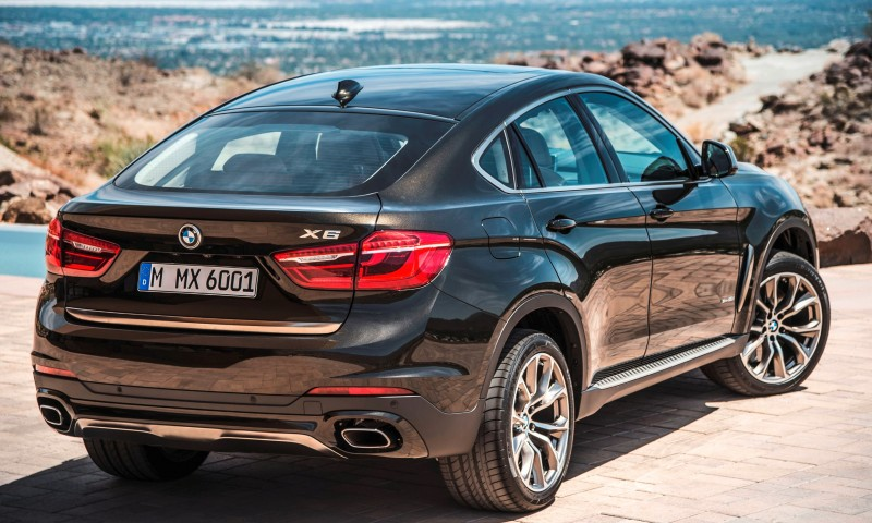 2015 BMW X6 Debuts Tech-tastic 445HP xDrive50i and New Rear-Drive sDrive35i 20