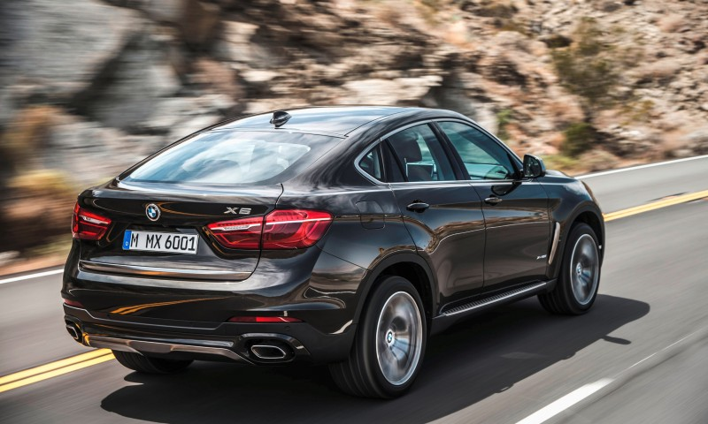 2015 BMW X6 Debuts Tech-tastic 445HP xDrive50i and New Rear-Drive sDrive35i 5