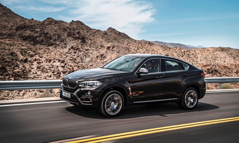 2015 BMW X6 Debuts Tech-tastic 445HP xDrive50i and New Rear-Drive sDrive35i 6