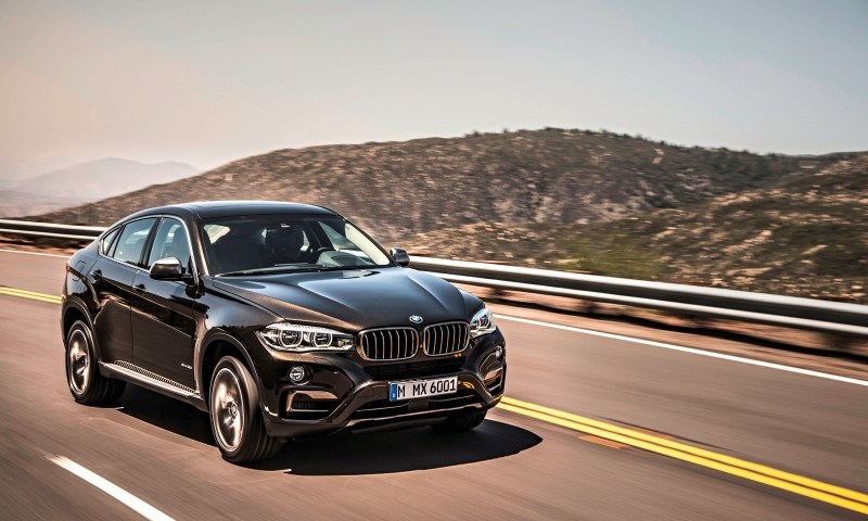 2015 BMW X6 Debuts Tech-tastic 445HP xDrive50i and New Rear-Drive sDrive35i 8