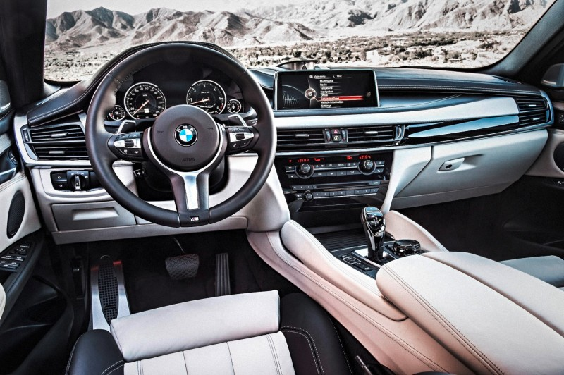 2015 BMW X6 xDrive50i INTERIOR 1