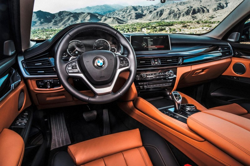 2015 BMW X6 xDrive50i INTERIOR 10