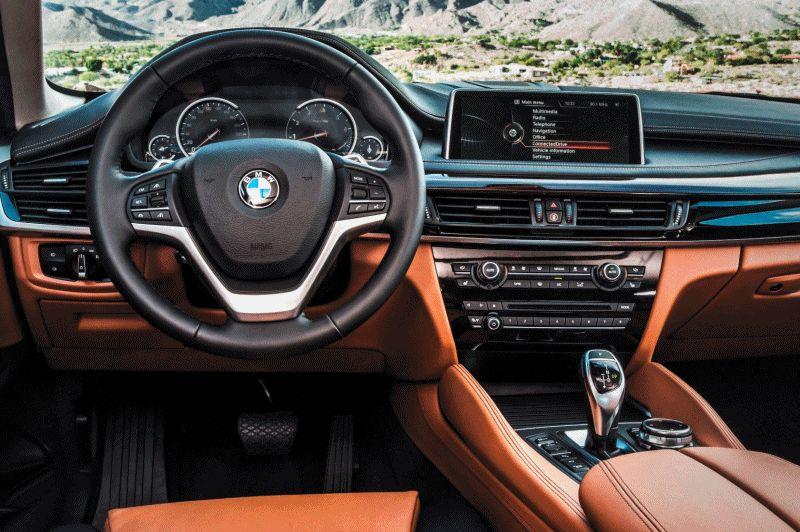 2015 BMW X6 xDrive50i INTERIOR GIF2