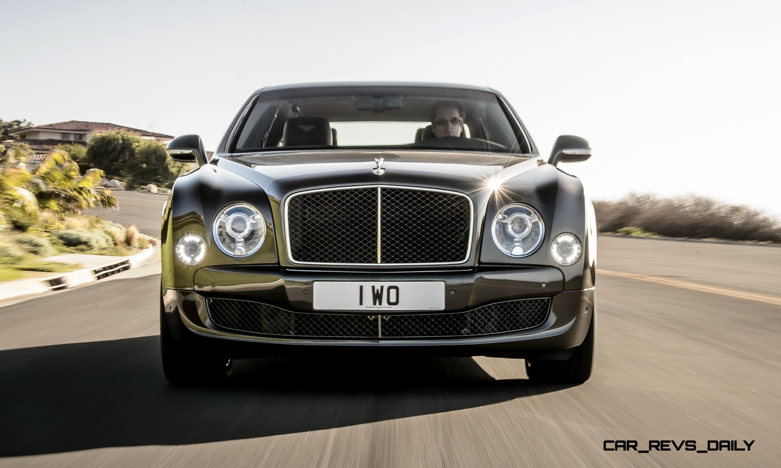 Bentley Mulsanne Speed is New for 2015 With 811-Pound-Feet of Turbo ...