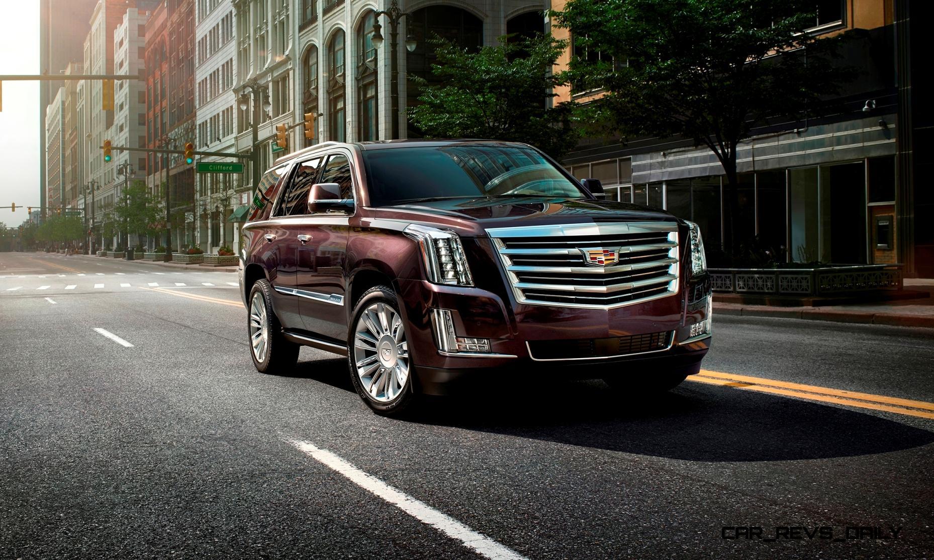 2015 Cadillac Escalade Platinum Brings New Crest Emblem, 8 ...