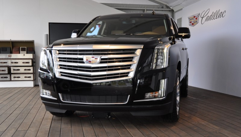 2015 Cadillac Escalade Platinum and Standard Model Unveiled for Pebble Beach 1