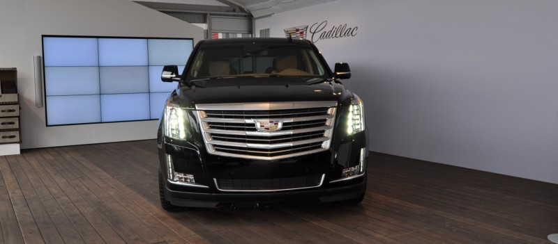 2015 Cadillac Escalade Platinum and Standard Model Unveiled for Pebble Beach 10