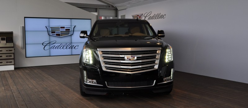 2015 Cadillac Escalade Platinum and Standard Model Unveiled for Pebble Beach 11