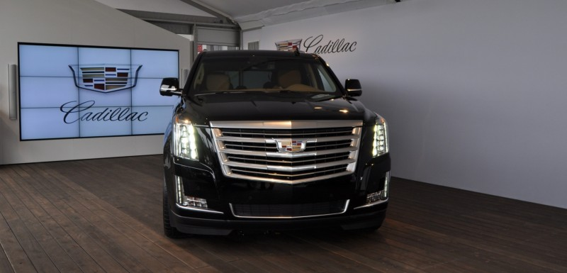 2015 Cadillac Escalade Platinum and Standard Model Unveiled for Pebble Beach 12