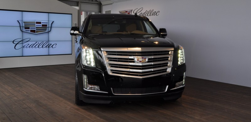 2015 Cadillac Escalade Platinum and Standard Model Unveiled for Pebble Beach 13