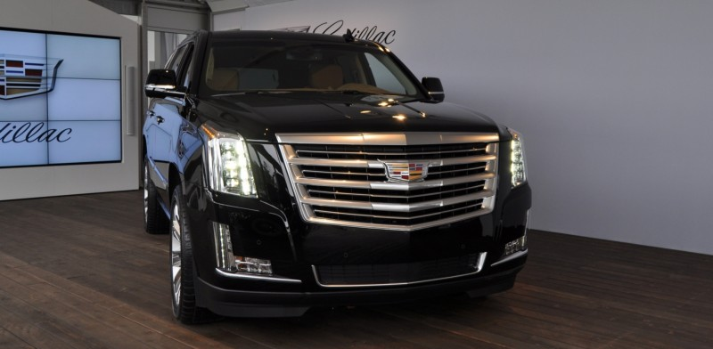 2015 Cadillac Escalade Platinum and Standard Model Unveiled for Pebble Beach 15