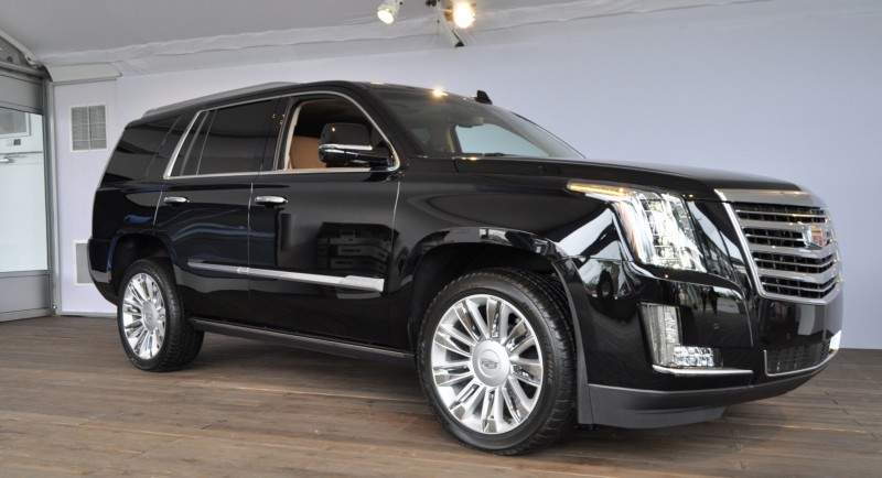 2015 Cadillac Escalade Platinum and Standard Model Unveiled for Pebble Beach 17