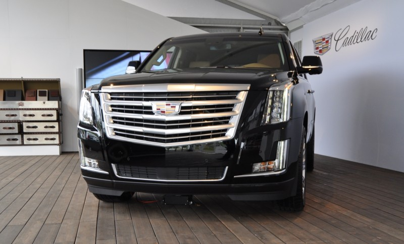 2015 Cadillac Escalade Platinum and Standard Model Unveiled for Pebble Beach 2
