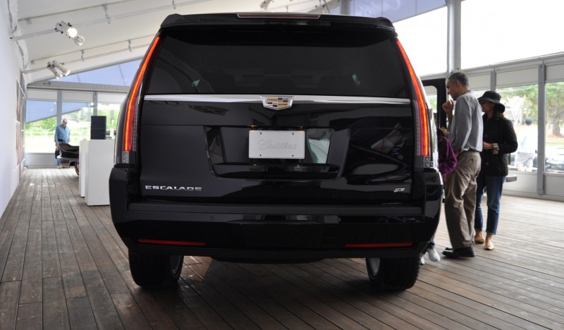 2015 Cadillac Escalade Platinum and Standard Model Unveiled for Pebble Beach 22