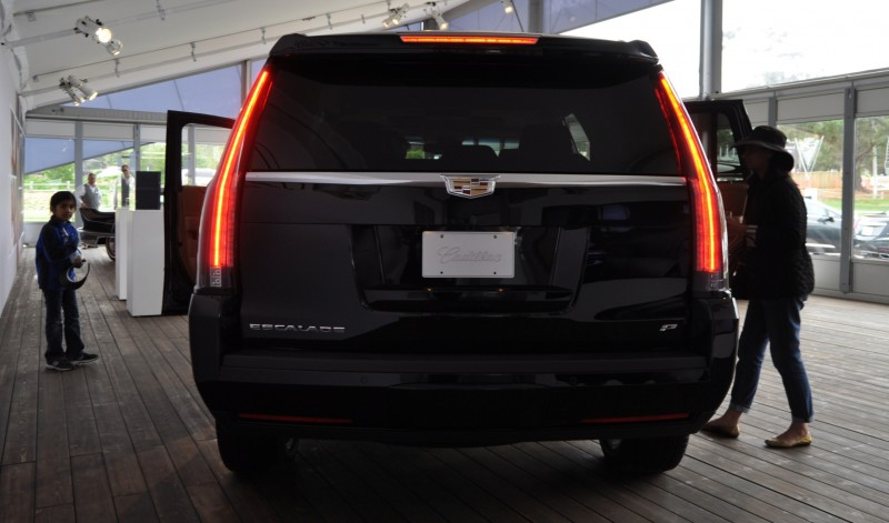 2015 Cadillac Escalade Platinum and Standard Model Unveiled for Pebble Beach 25