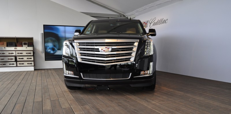 2015 Cadillac Escalade Platinum and Standard Model Unveiled for Pebble Beach 3