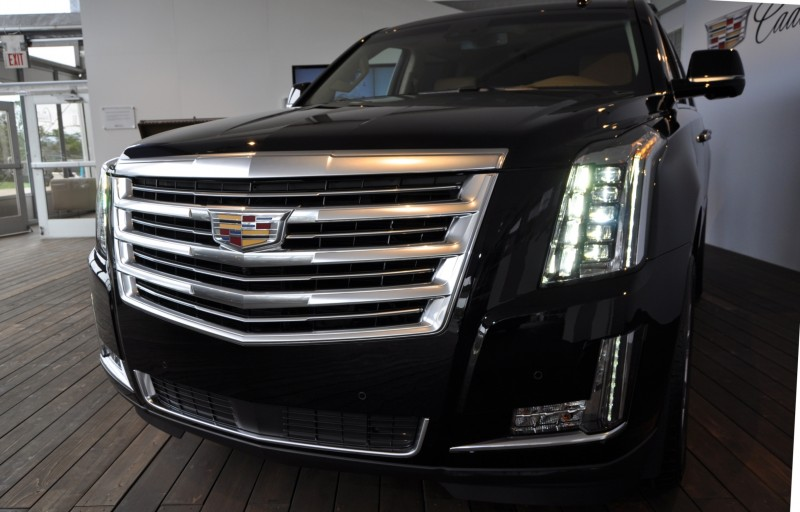 2015 Cadillac Escalade Platinum and Standard Model Unveiled for Pebble Beach 32