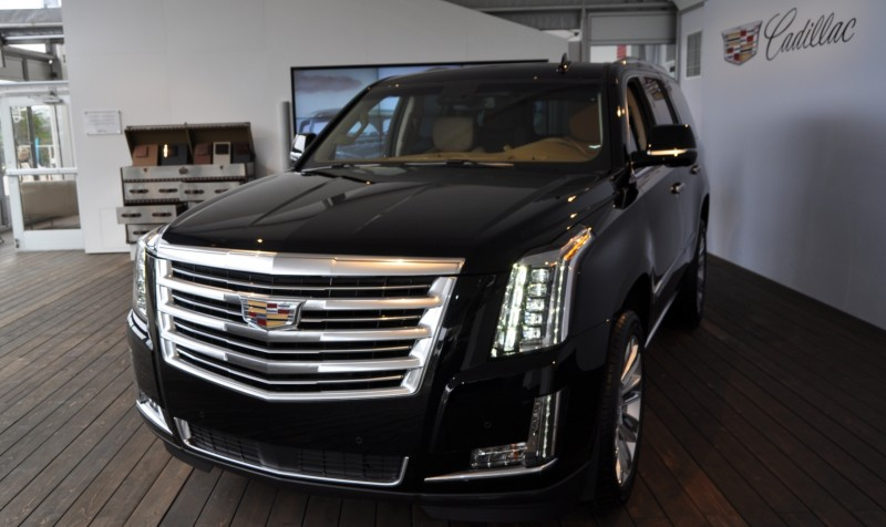 2015 Cadillac Escalade Platinum and Standard Model Unveiled for Pebble Beach 33