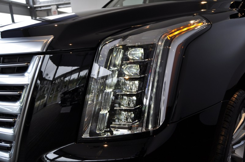 2015 Cadillac Escalade Platinum and Standard Model Unveiled for Pebble Beach 34