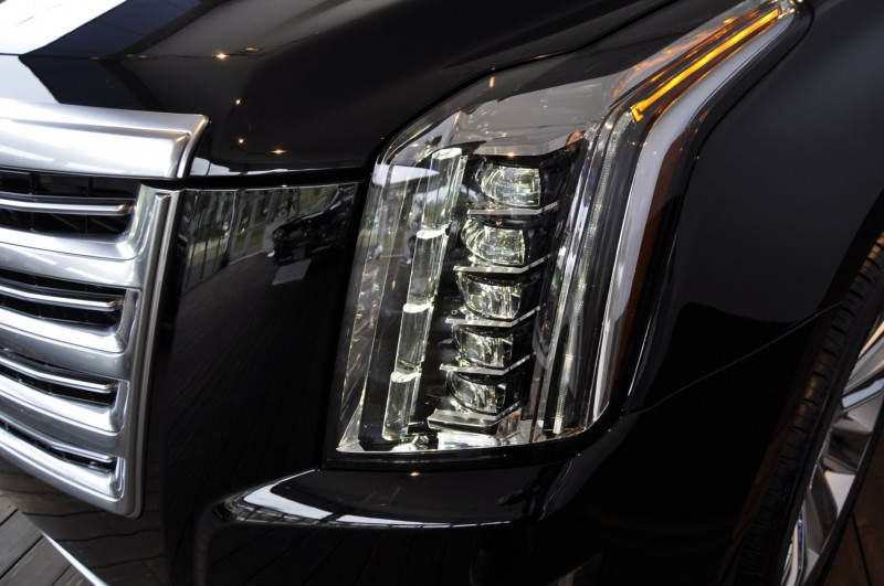 2015 Cadillac Escalade Platinum and Standard Model Unveiled for Pebble Beach 35