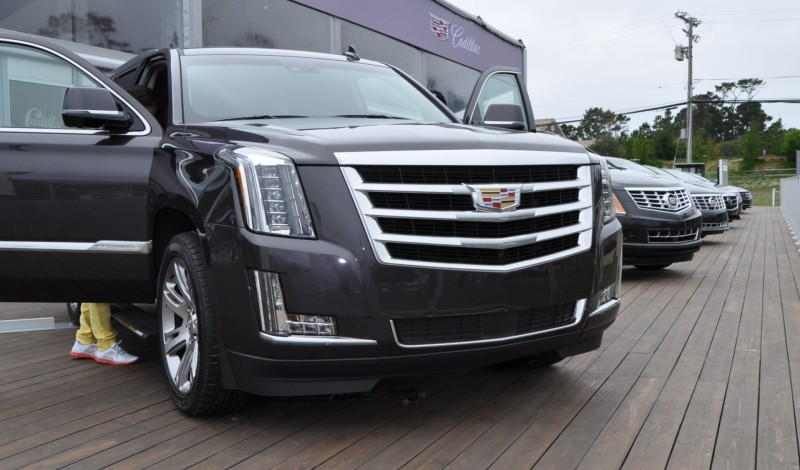 2015 Cadillac Escalade Platinum and Standard Model Unveiled for Pebble Beach 61