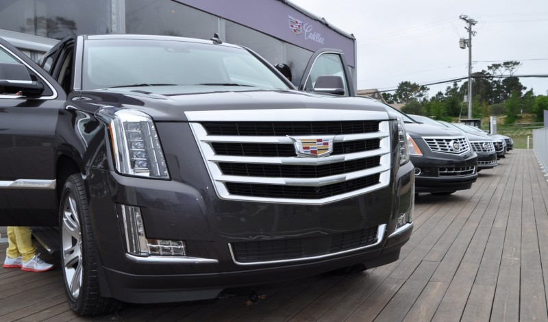 2015 Cadillac Escalade Platinum and Standard Model Unveiled for Pebble Beach 62