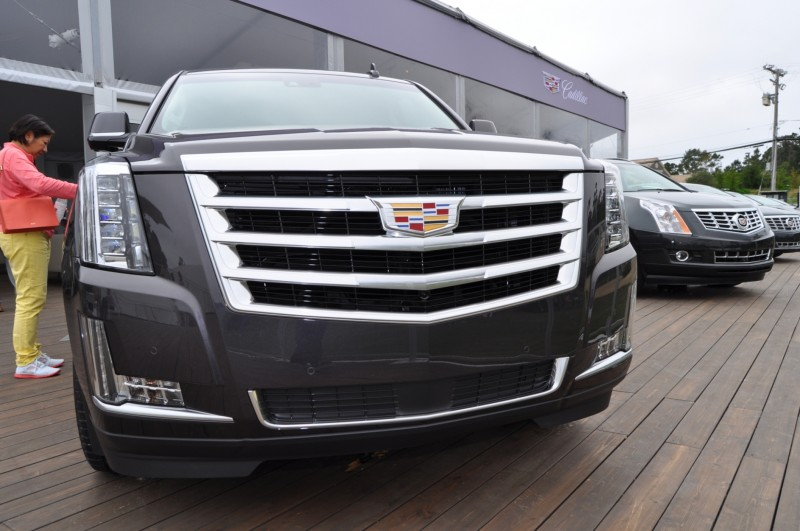 2015 Cadillac Escalade Platinum and Standard Model Unveiled for Pebble Beach 66