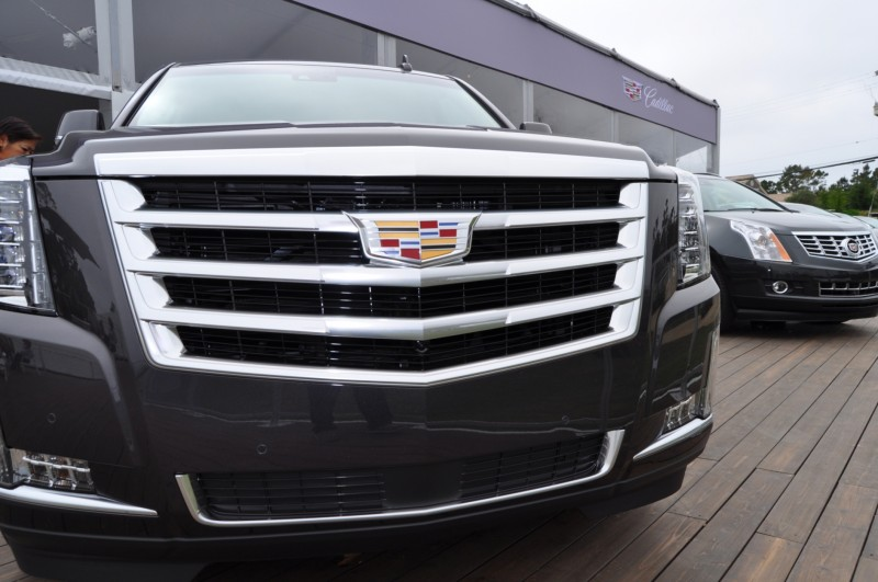 2015 Cadillac Escalade Platinum and Standard Model Unveiled for Pebble Beach 67