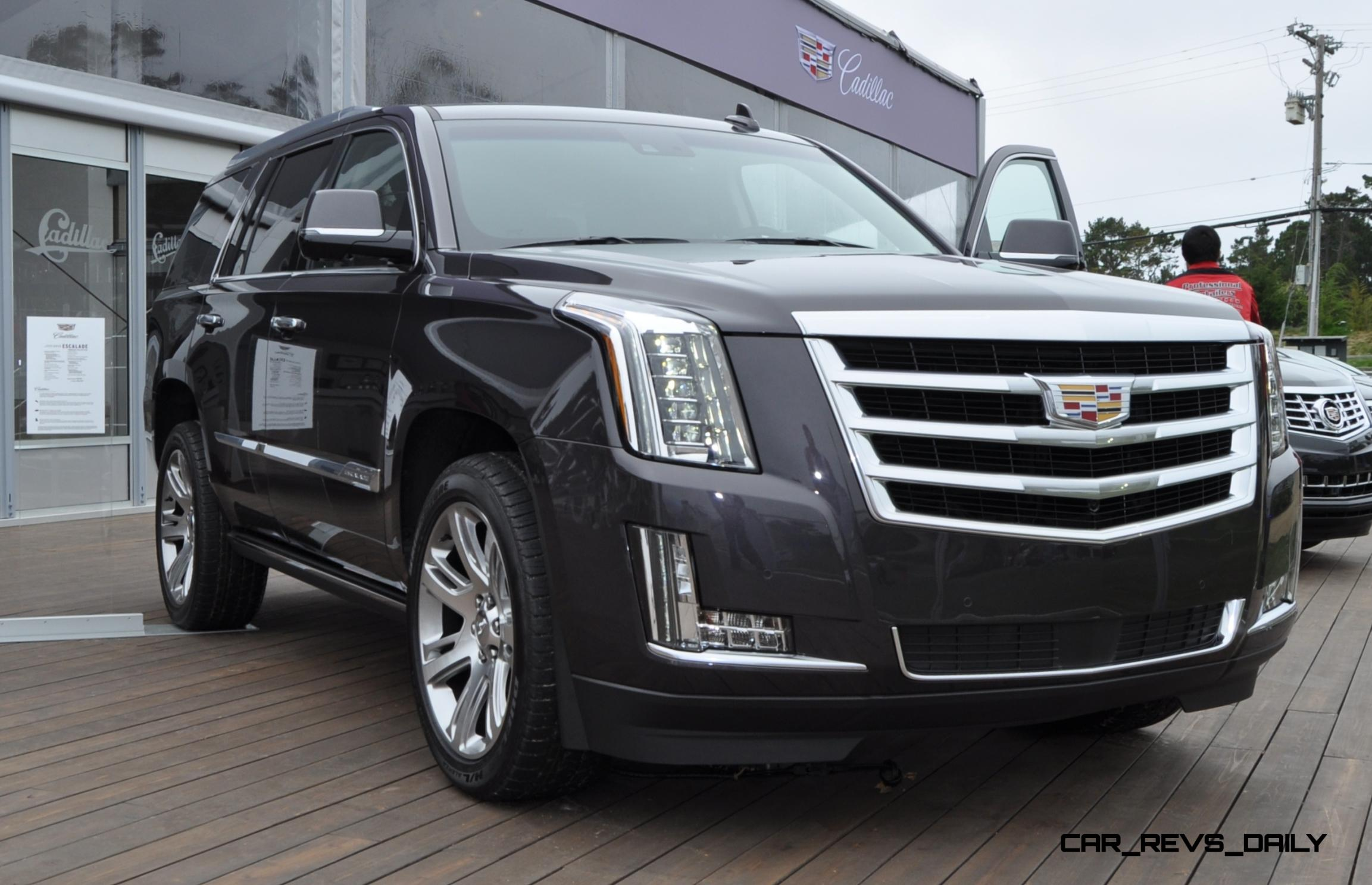 90 all new photos 2015 cadillac escalade platinum world debut in pebble beach. Black Bedroom Furniture Sets. Home Design Ideas