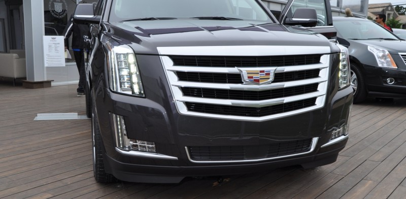 2015 Cadillac Escalade Platinum and Standard Model Unveiled for Pebble Beach 73