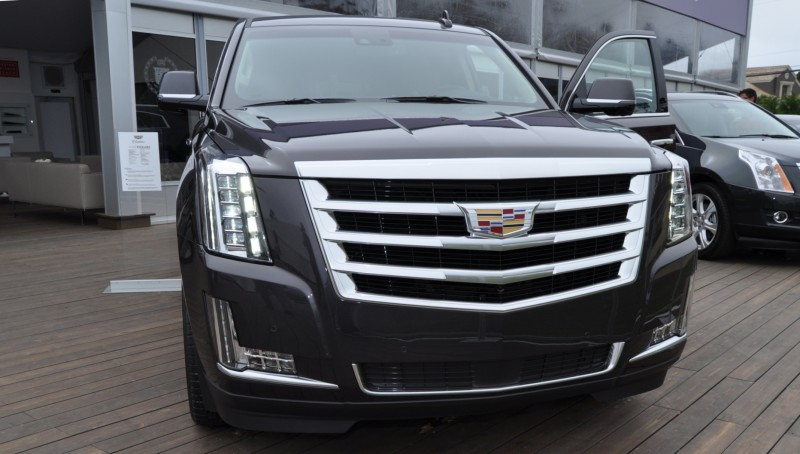 2015 Cadillac Escalade Platinum and Standard Model Unveiled for Pebble Beach 74
