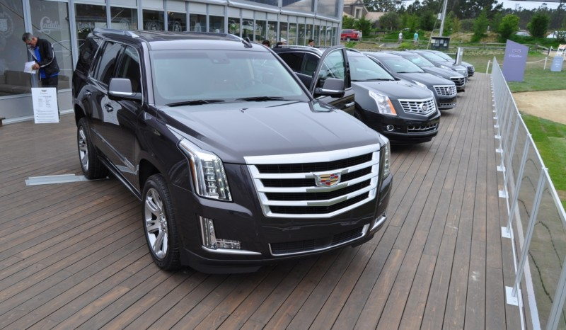 2015 Cadillac Escalade Platinum and Standard Model Unveiled for Pebble Beach 77