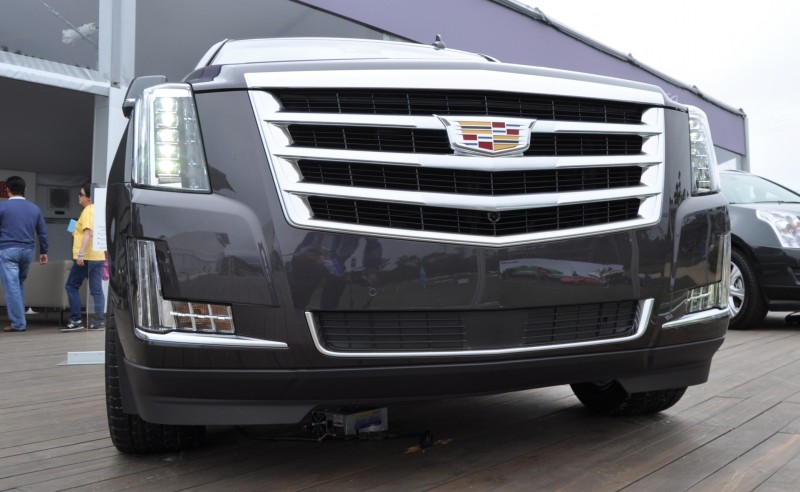 2015 Cadillac Escalade Platinum and Standard Model Unveiled for Pebble Beach 79