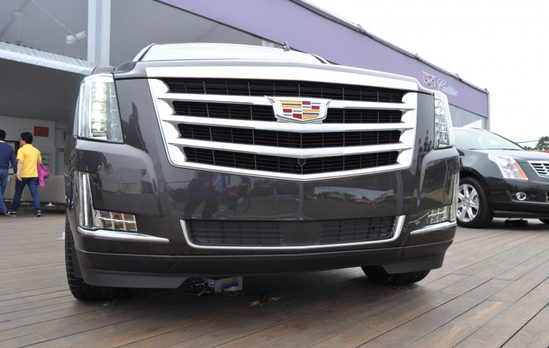 2015 Cadillac Escalade Platinum and Standard Model Unveiled for Pebble Beach 80