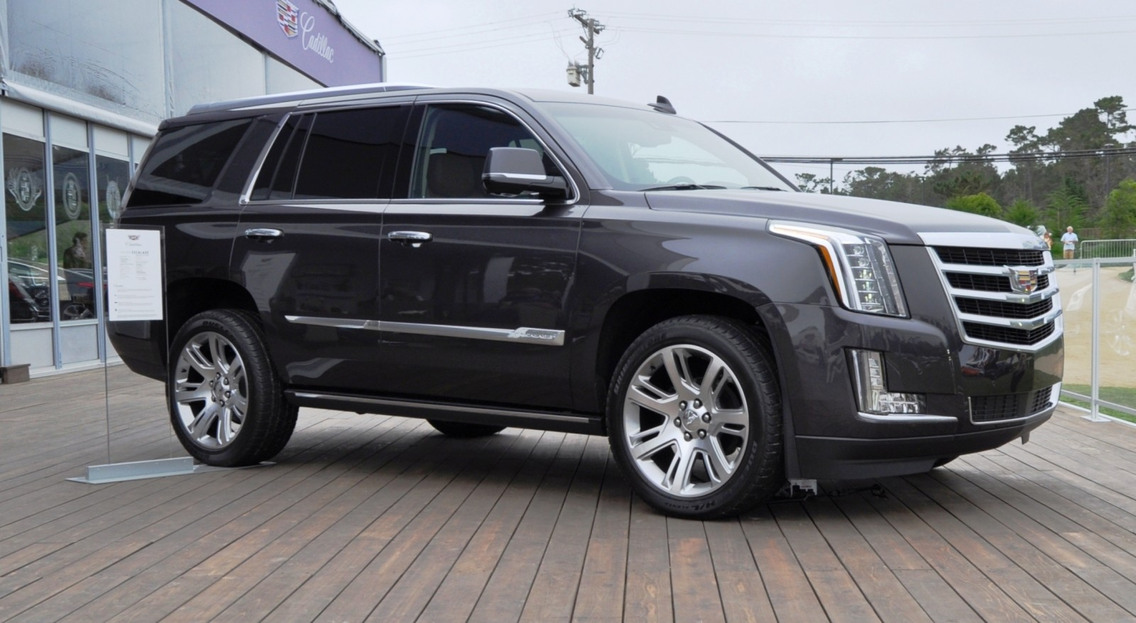 2015 Cadillac Escalade Platinum and Standard Model Unveiled for Pebble Beach 82