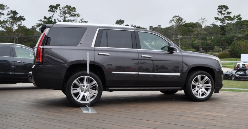 2015 Cadillac Escalade Platinum and Standard Model Unveiled for Pebble Beach 84