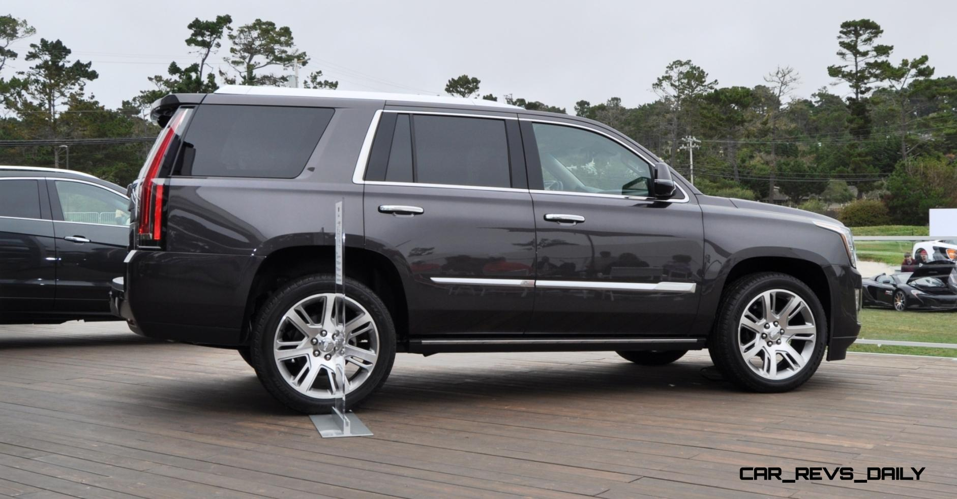 2015 cadillac escalade platinum and standard model unveiled for pebble. Cars Review. Best American Auto & Cars Review