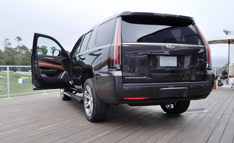 2015 Cadillac Escalade Platinum and Standard Model Unveiled for Pebble Beach 87