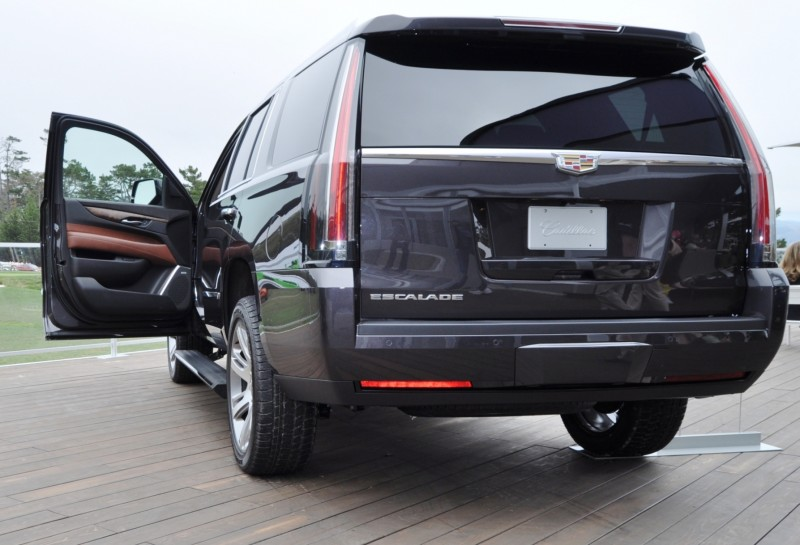 2015 Cadillac Escalade Platinum and Standard Model Unveiled for Pebble Beach 88