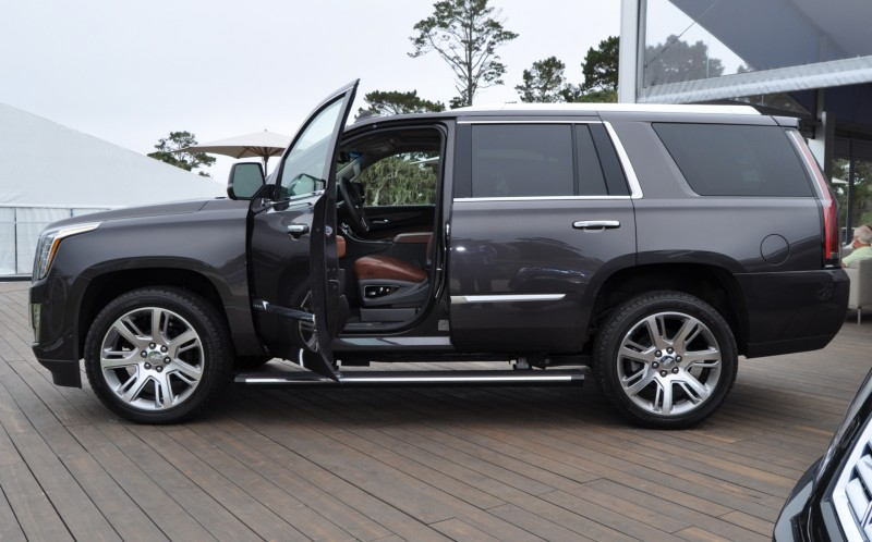 2015 Cadillac Escalade Platinum and Standard Model Unveiled for Pebble Beach 89