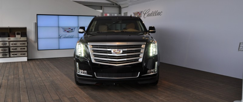 2015 Cadillac Escalade Platinum and Standard Model Unveiled for Pebble Beach 9