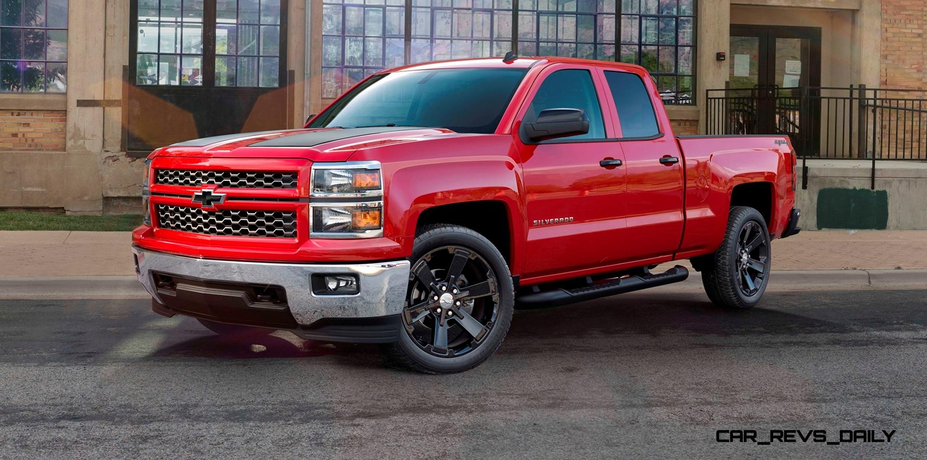 2015 chevrolet silverado 1500 crew cab rally edition adds gloss black 22 inch wheels and black. Black Bedroom Furniture Sets. Home Design Ideas