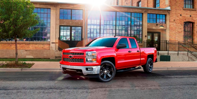 Chevy Silverado Rally Edition >> 2015 Chevrolet Silverado 1500 Crew Cab Rally Edition Adds Gloss-Black 22-inch Wheels and Black ...