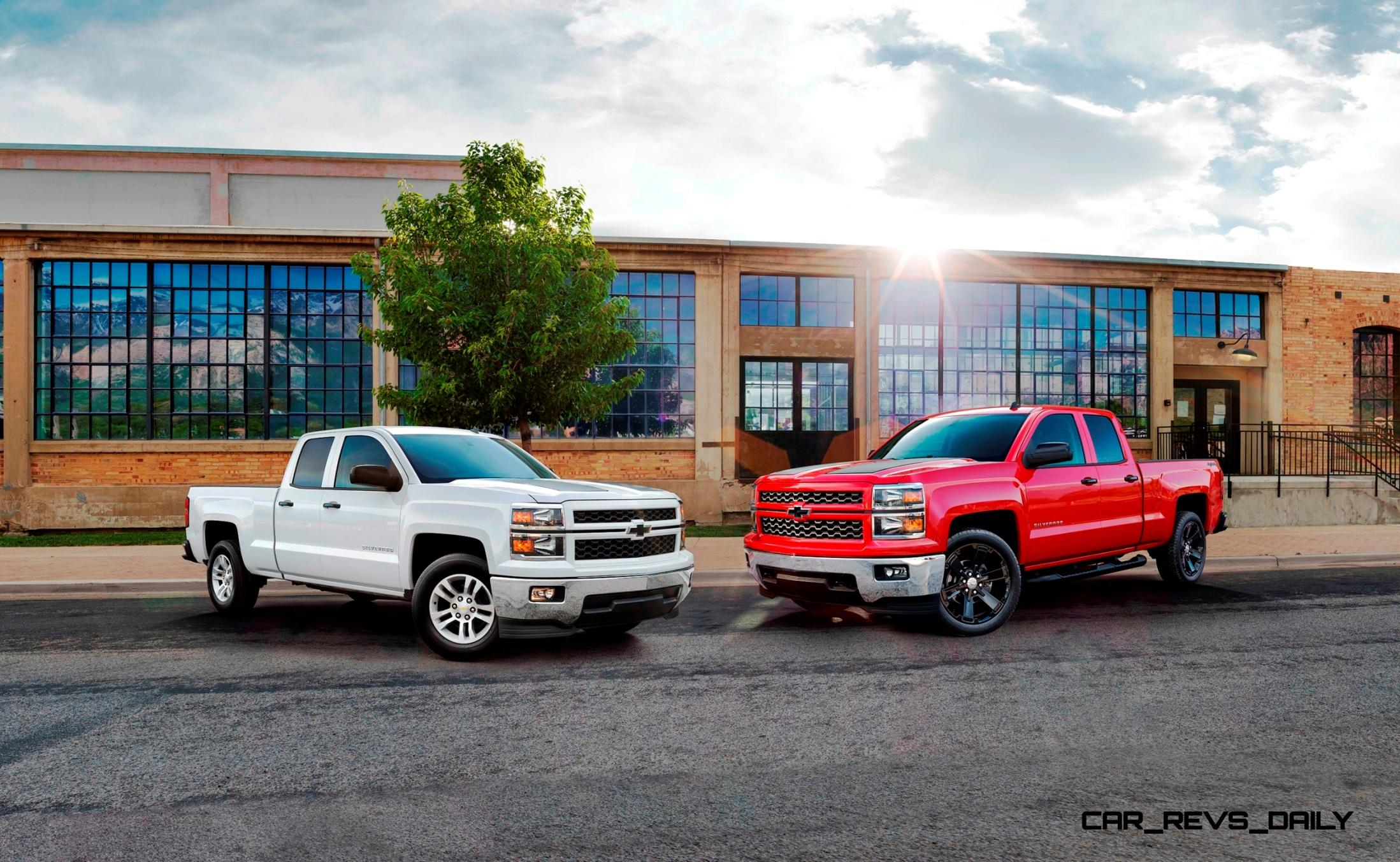 Chevy Silverado Side Steps >> 2015 Chevrolet Silverado 1500 Crew Cab Rally Edition Adds ...