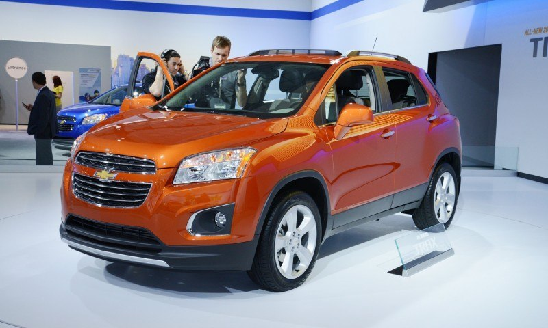 2015 Chevrolet Trax USA Arrival In September 11