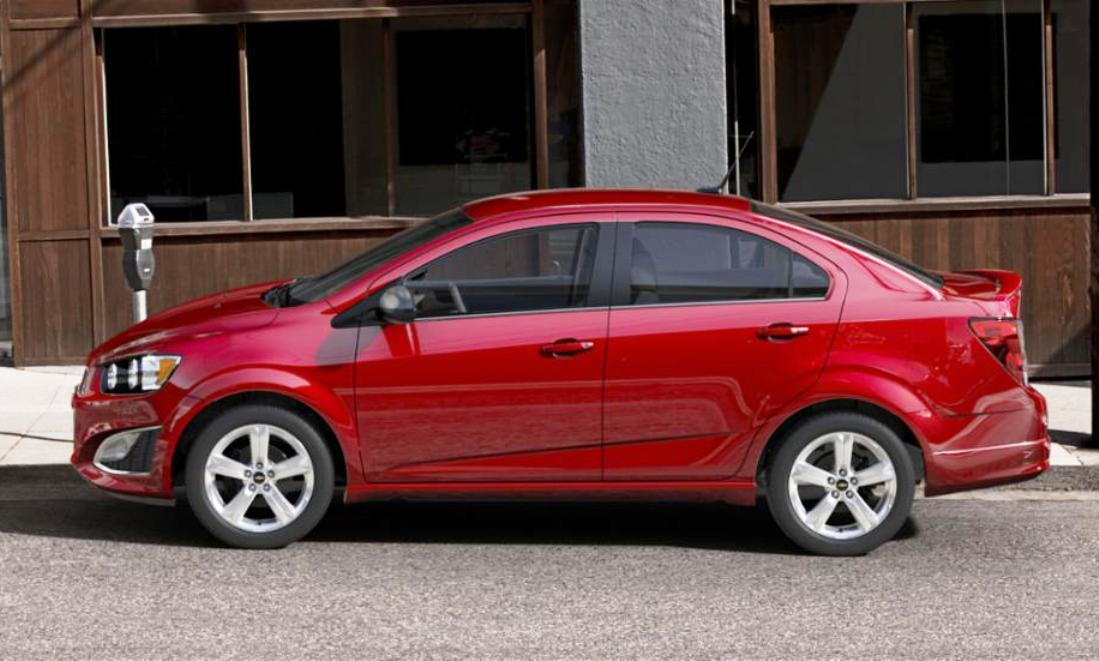2015 chevy sonic rs sedan colors and buyers guide info 35. Black Bedroom Furniture Sets. Home Design Ideas