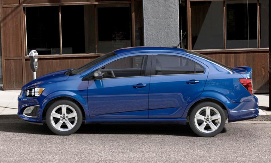 2015 Chevy Sonic RS Sedan COLORS and Buyers Guide Info 43
