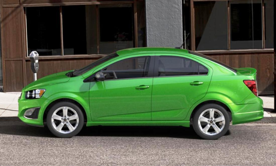 2015 chevy sonic rs sedan colors and buyers guide info 47. Black Bedroom Furniture Sets. Home Design Ideas